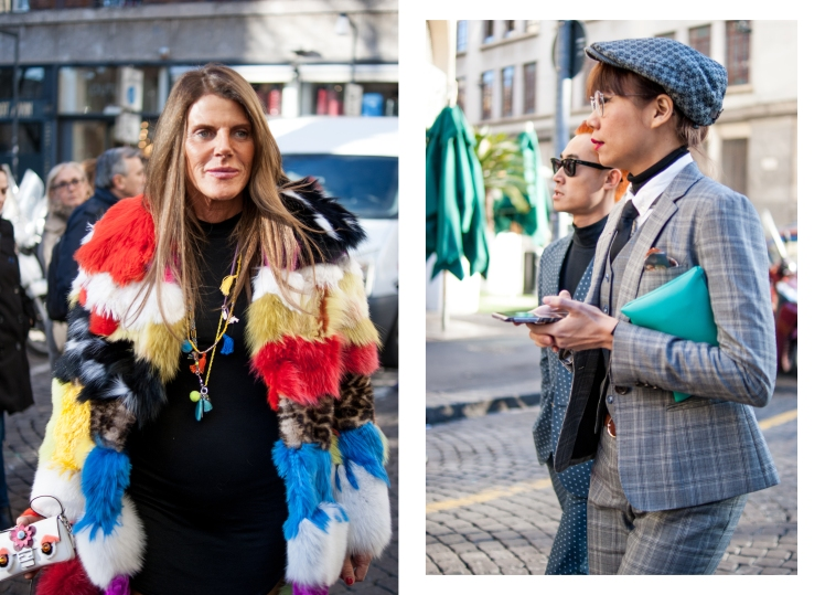 Anna Dello Russo, Fashion week, street style, photographer in Paris, photo shoot